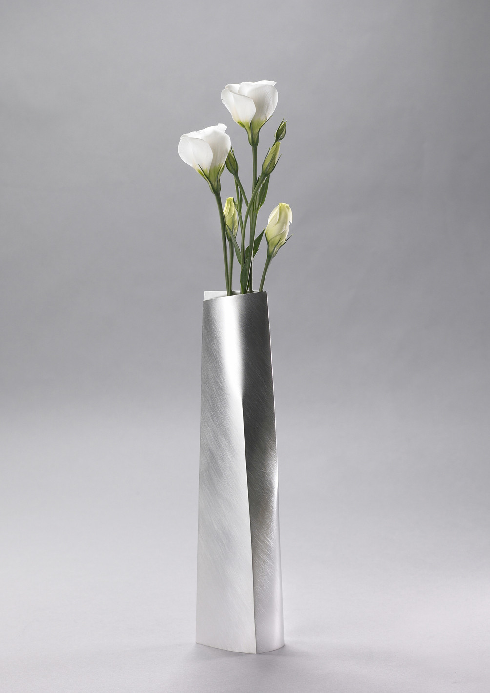 tall tapered vase vases silver miratis
