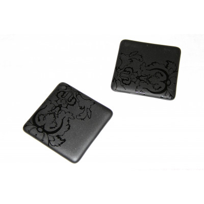 Paisley Carved Coasters