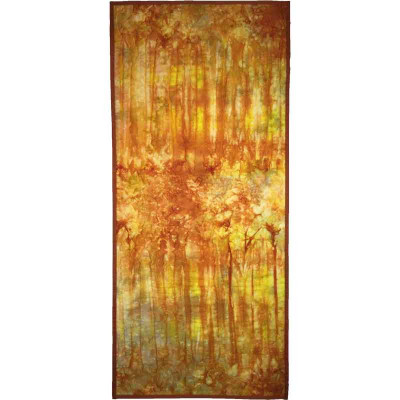 Forest Fire Small Wall Hanging