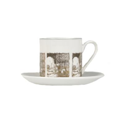 Espresso Cup - Delft Inspired Pattern
