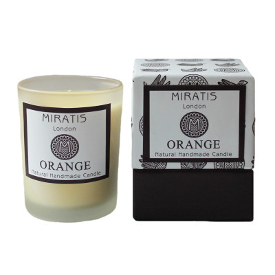 Orange & Neroli Scented Candle