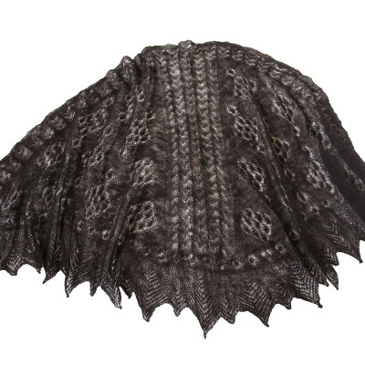 Cobweb Lace Black Wrap