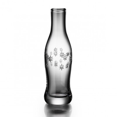 Cut Crystal Pop Bottle - Constellation Cut