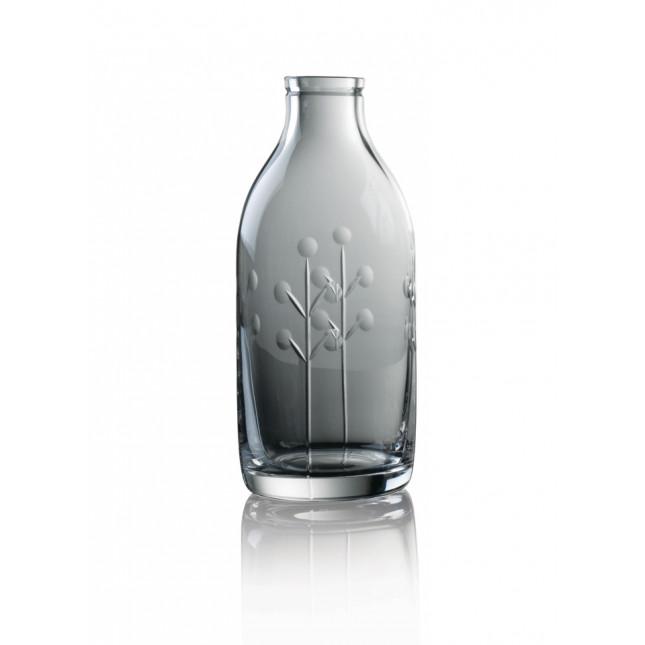 Cut Crystal Milk Bottle - Berry Cut