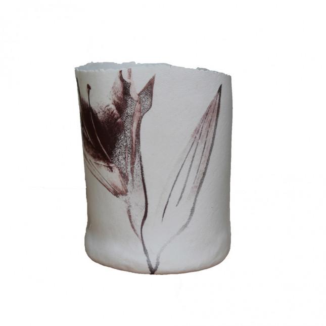 Brown Lily Vase