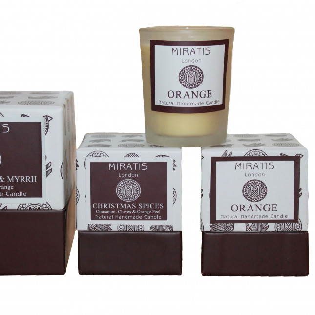Trio of Scented Christmas Candles