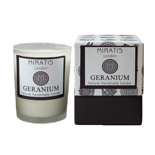 Geranium Scented Candle