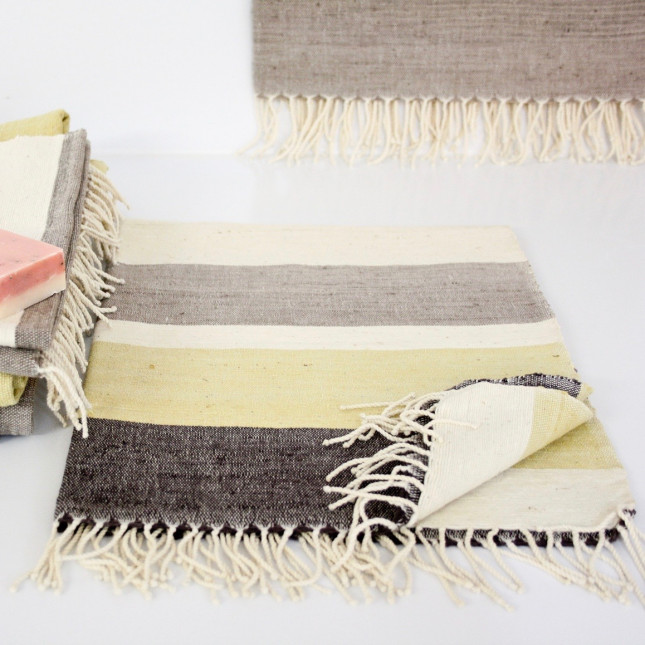 Stripe Guest Towel