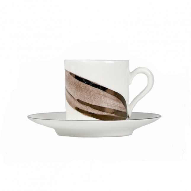 Espresso Cup - Lily Pattern