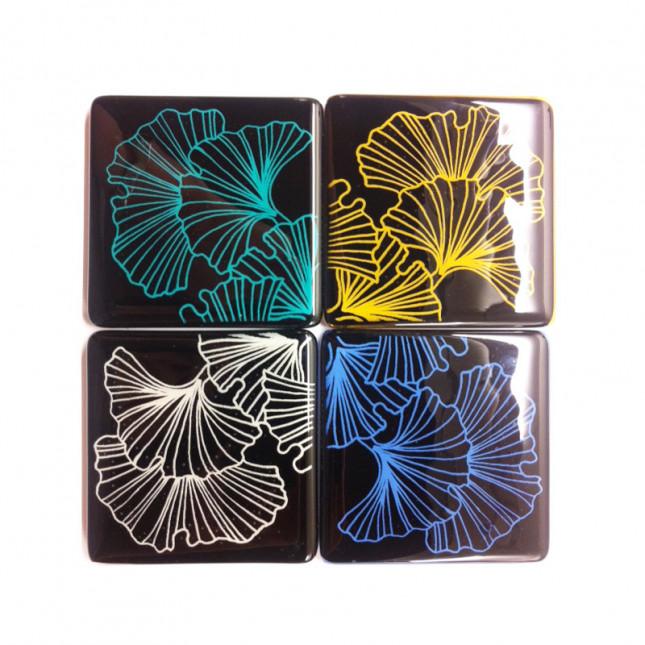 Ginkgo Coasters