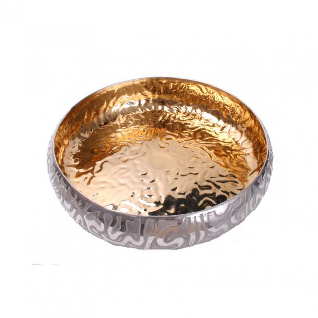 Brain coral flowerhead bowl