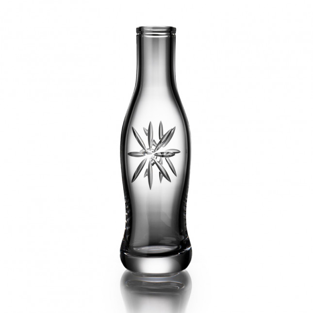 Cut Crystal Pop Bottle - Daisy Cut