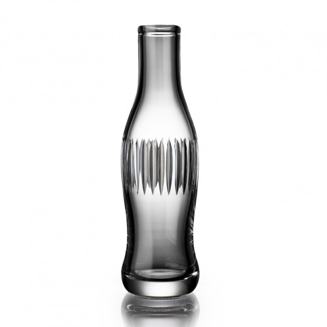 Cut Crystal Pop Bottle - Line Cut