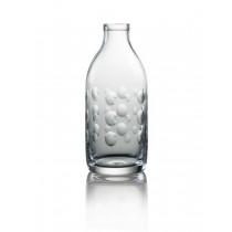 Cut Crystal Milk Bottle