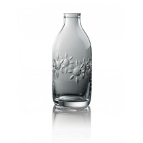 Cut Crystal Milk Bottle - Flower Cut