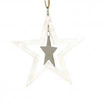 'Stars' Tree Ornament / Christmas Decoration