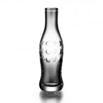 Cut Crystal Pop Bottle - Dot Cut