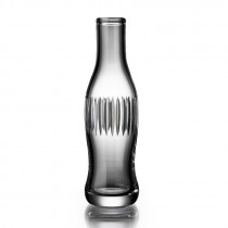 Cut Crystal Pop Bottle - Line Cut