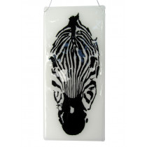 Zebra and Bird Panel