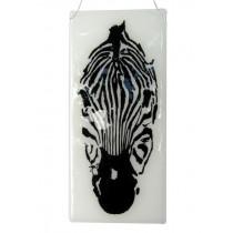 Zebra and Bird Panel