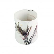 Copper/Black detail Lily Vase