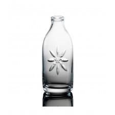 Cut Crystal Milk Bottle - Daisy Cut