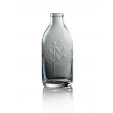 Cut Crystal Milk Bottle - Berry Cut