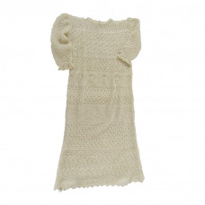 Cobweb Lace Christening Robe